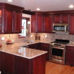 Painting Cabinets Cherry Color