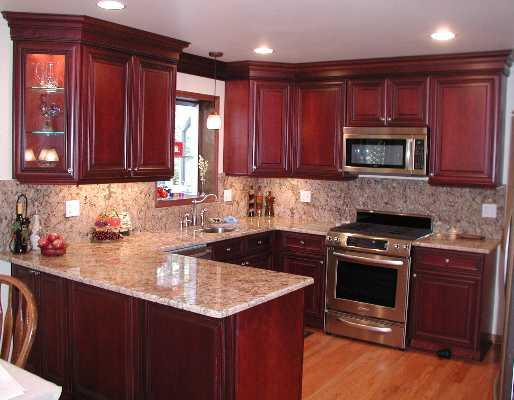 Cabinetry examples showcase door painting for Examples of kitchen cabinets