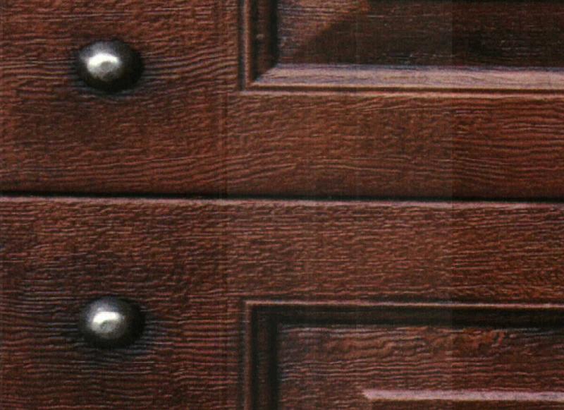 Antique Copper Faux Wood Paint